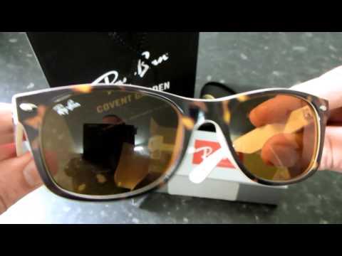 new-authentic-original-ray-ban-wayfarer-rb2132---6012-sunglasses-unboxing