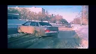 Аварии на видеорегистратор.  Свежие.