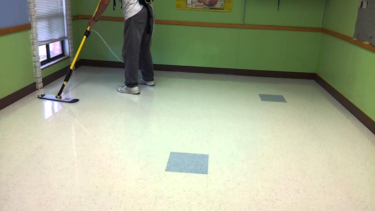 Floor Doctor Wax Job,new Wax System..application
