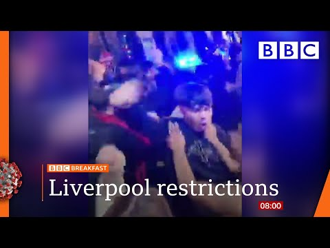 Covid-19: New three-tier restrictions come into force in England 🔴 @BBC News LIVE on iPlayer - BBC