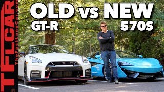 Old vs New--Nissan GT-R vs McLaren 570S Review: Can Godzilla Still Compete?