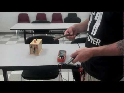 ELECTRICITY human battery