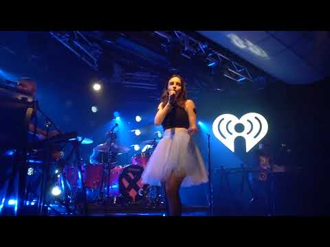 Chvrches - Allergies Banter & Clearest Blue (iHeartRadio Theater 5/22/18)