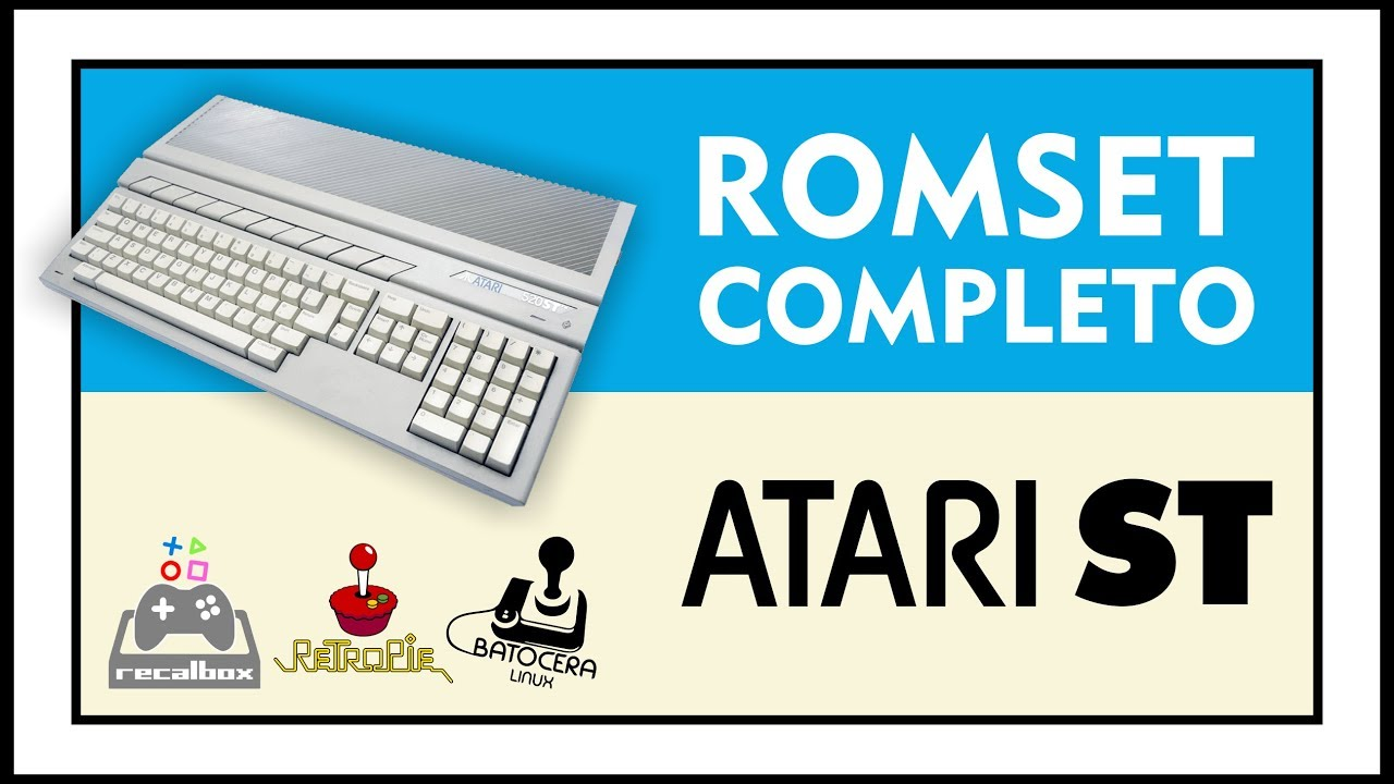 DOWNLOAD COMPLETE ROMSET OF ATARI ST