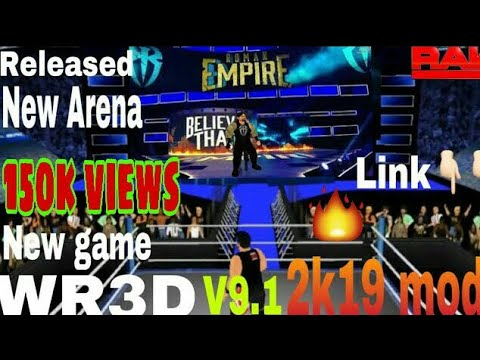 WR3D V9 1 (2K19 mod) WWE ,Released with download link BY GAMING EXPERTS