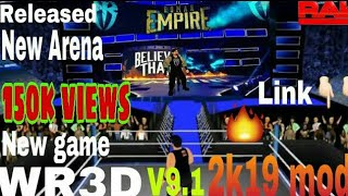 WR3D V9.1 2K19 Mod WWE Released With Download Link BY GAM NG EXPERTS