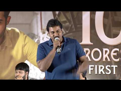 Sunil Speech @ Aravindha Sametha Success Press Meet - Jr. NTR | Trivikram