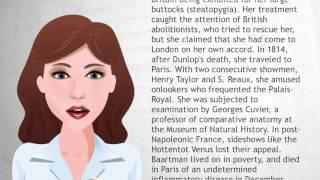 Saartjie Baartman - Wiki Videos