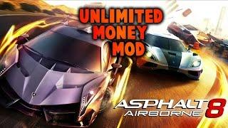 Asphalt 8 Airborne (Unlimited Money) Mod