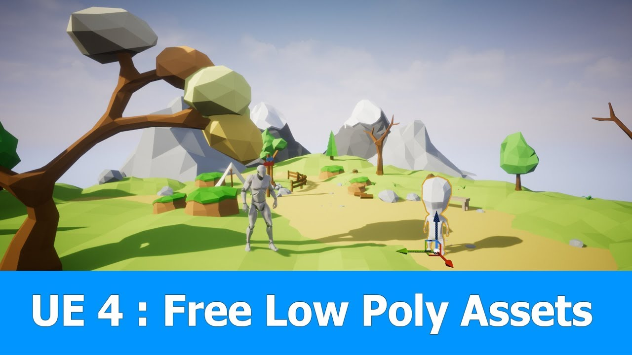 Unreal Engine Free Low Poly Game Assets