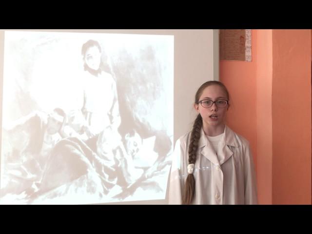 Изображение предпросмотра прочтения – ЯрославаКирилина читает произведение «Принцесса» Ю.В.Друниной