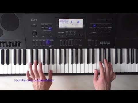 Warren G - regulate (piano tutorial & cover)