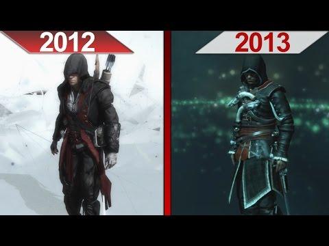 Comparison | Assassin's Creed III (2012) vs. Assassin's Creed IV: Black Flag (2013) | ULTRA