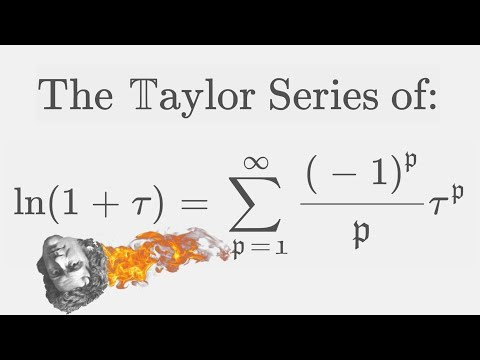 The Natural Logarithm And Its Series Expansion - 2 Ways [ Ln(x+1) At 0 ]