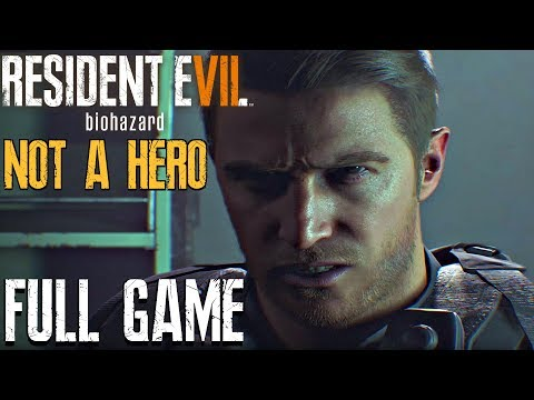 RESIDENT EVIL 7 NOT A HERO - Gameplay Walkthrough Part 1 FULL GAME (PS4 PRO) DLC