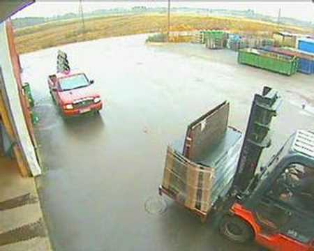 forklift  accident pilkington nivala factory