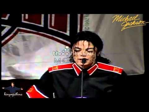 Michael Jackson Superbowl Speech Heal the world foundation