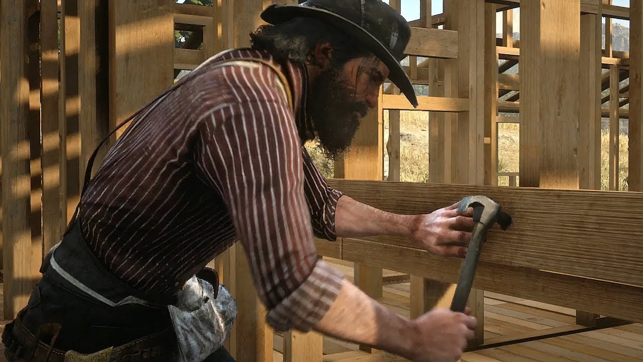 Red Dead Redemption 2: John Marston Builds His Ranch