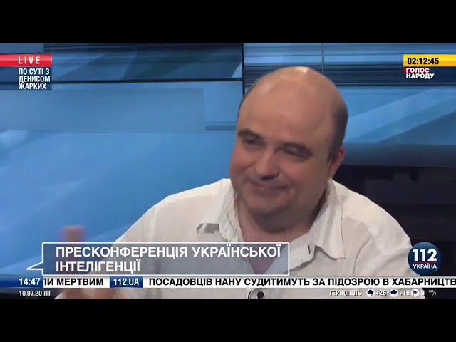 Калиниченко  У Зеленского нет амбиций президента  По сути с Денисом Жарких,