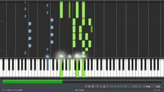 Inuyasha Kimi ga inai mirai Synthesia Piano Tutorial Midi 100 Speed