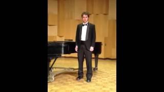 Brandon Keith Biggs CSUEB Junior Recital part 2