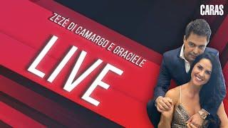 Zezé Di Camargo e Graciele em entrevista ao vivo para a Revista CARAS!