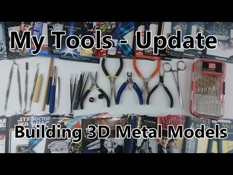 Metal Earth tools - My Tools and ways I use them