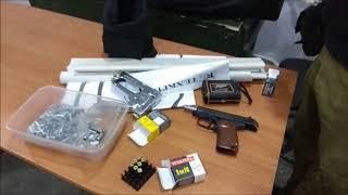 Пострелушки  П М17Т, отстрел  на точность и на хронограф
