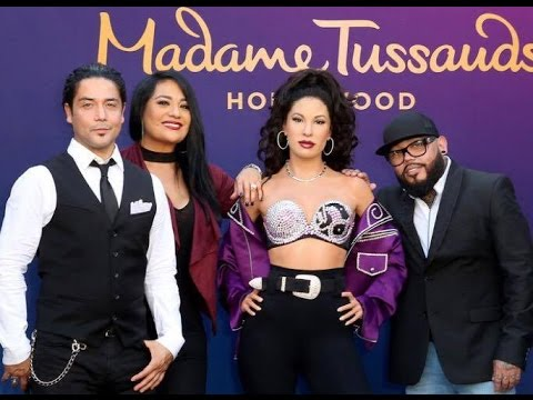 Selena Wax Figure Unveiling at Madame Tussauds Hollywood