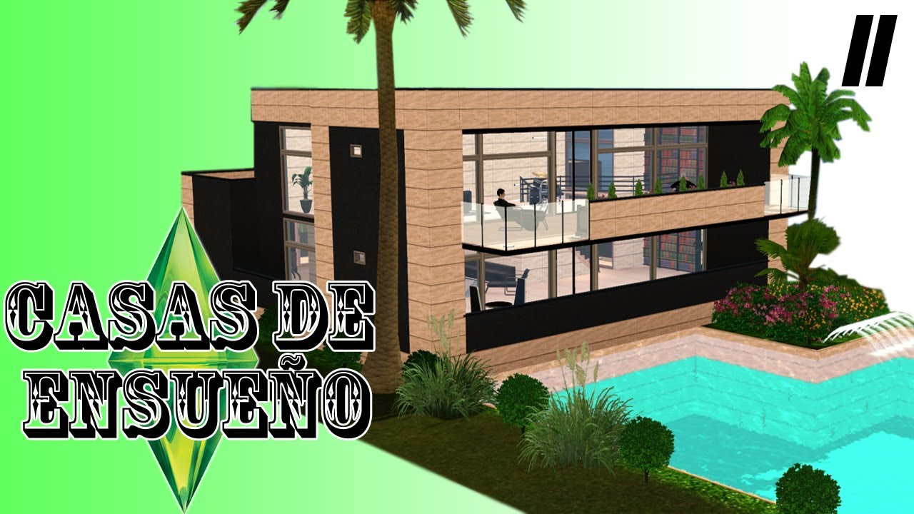 Casas de ensue o casa 11 serie sims 3 descarga youtube for Casas de ensueno interiores