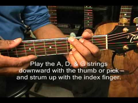 How To Play Richard Marx Style Waiting Chord Transition #1 Tutorial Lesson