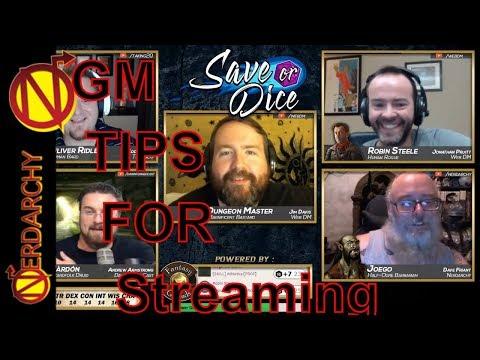 Advice for Streaming and Running D&D Games Online| Game Master Tips