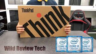 4K Unboxing Lenovo ThinkPad T580 Business Laptop