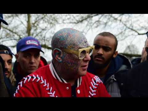 Pyramid  Questions!? Hashim Vs Visitor   Speakers Corner   Hyde Park