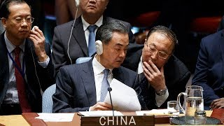 China's Foreign Minister rejects claim of Chinese meddling in upcoming US election
