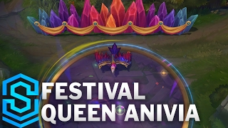 Festival Queen Anivia Skin Spotlight - League of Legends