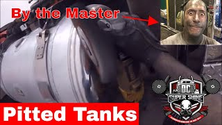 DIY Aluminum Polishing GoPro - How to polish badly pitted tank ends