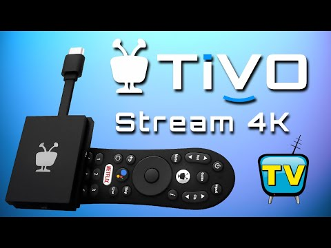 TiVo Stream 4K Live TV Google Certified Android TV OS TV Box