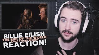 Billie Eilish | The End Of The World | Radio 1 | Reaction!