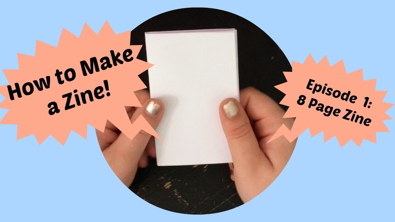 how to make a zine youtube