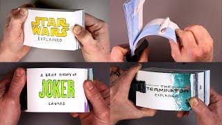 Five Flip Book Drawings! Star Wars, Terminator, Joker