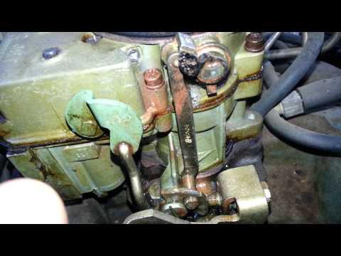 Rochester 2 Jet Carburator Adjustment