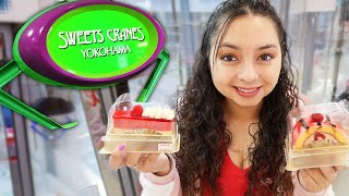 Real Cakes in a Claw Machine!?!