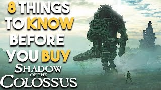 Shadow of the Colossus PS4 - 8 HUGE Reasons to Be EXCITED (Shadow of the Colossus Remake 2018)