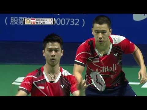 Thaihot China Open 2016 | Badminton F M3-MD | Gid/Suk vs Boe/Mog