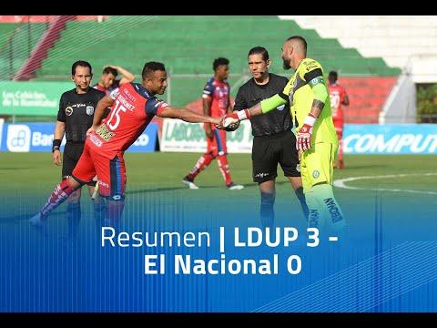 LDU Portoviejo El Nacional Goals And Highlights