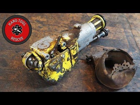Two-Man Chainsaw - Carburetor & Muffler [Restoration]