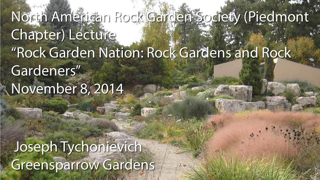 """Rock Garden Nation Rock Gardens and Rock Gardeners"""""""