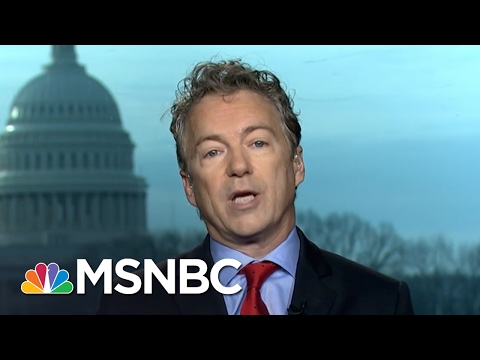 Rand Paul: There Is A Clear Problem With Visas | Morning Joe | MSNBC