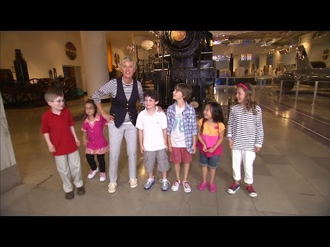 Memorable Moment: Kidding at the Museum